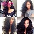 Peruvian Body Wave Lace Front Human Hair Wigs 7A Wet And Wavy Full Lace Human Hair Wigs Alionly Cheap Virgin Peruvian Hair Wigs