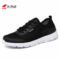 Men Shoes 2017 Summer Fashion Breathable Men Casual Shoes Lace Up High Quality Couple Flat Mesh