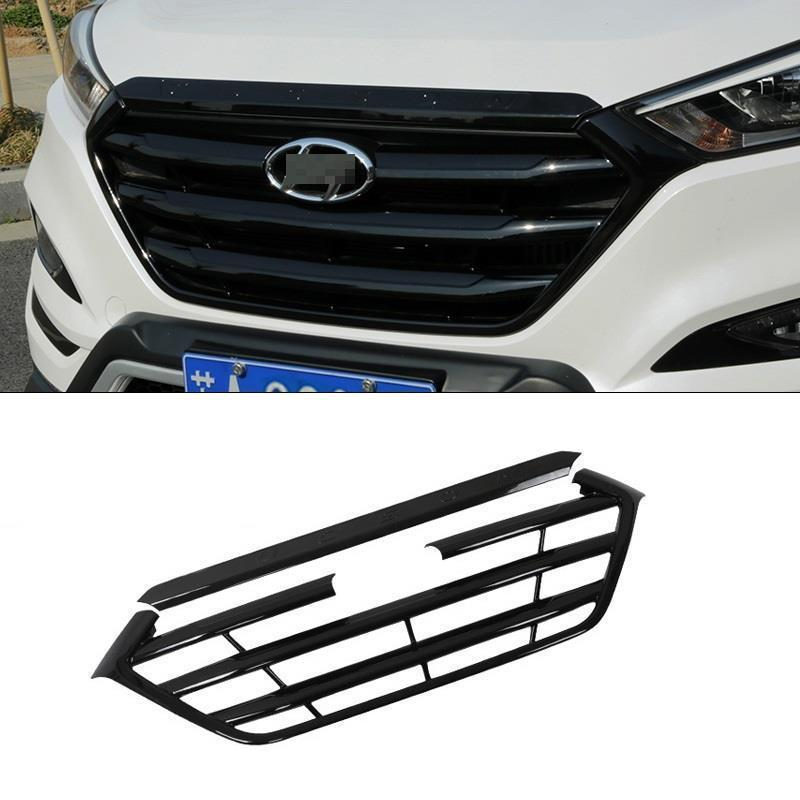 Grille exterior durable modified automobile decoration protecter accessories car styling parts 15 FOR Hyundai Tucson все цены
