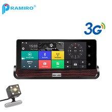 PRAMIRO 3G 7 pulgadas del coche dvr GPS navigator android con video del coche del coche M80 navegación wifi Europa mapa gratuito actualización