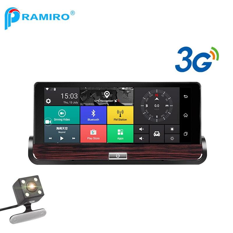 PRAMIRO 3G 7 inch car dvr GPS navigator s