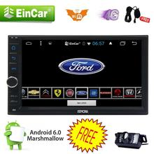 Quad Core Android 6.0 4G WIFI 7″ Double 2DIN Car Radio Stereo DVD Player GPS Nav