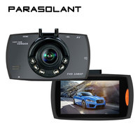 PARASOLANT 140 Wide Angle Car Recorder Full HD 1080P Dash Cam 6 Fill Lights Clear Night