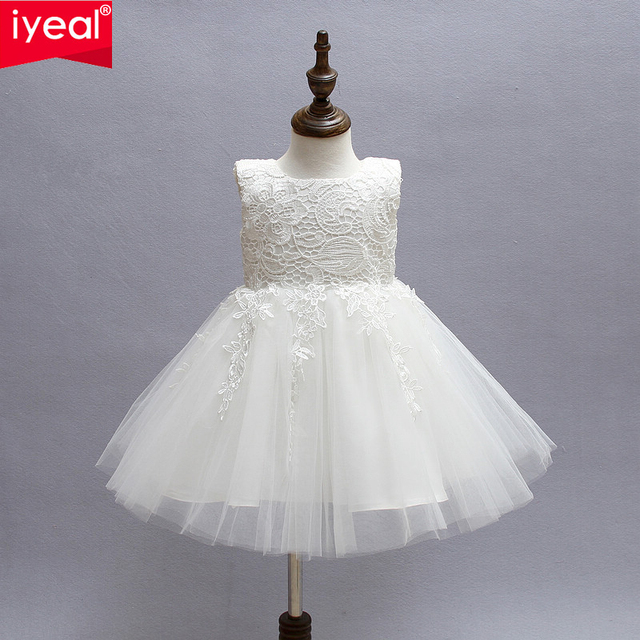 21 65 35 De Descuento Iyeal Marfil Vestidos De Primera Comunion Para Ninas Marca Tul Encaje Infantil Nino Desfile Flor Nina Vestidos Para