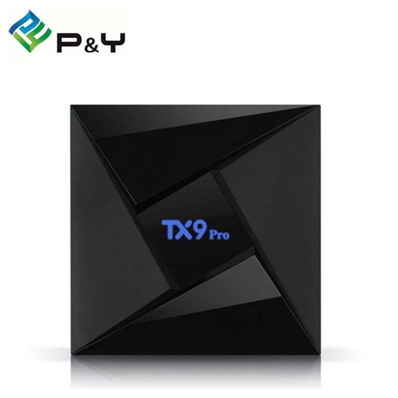 Android TV Box TX9 Pro Amlogic S912 Octa core 3GB 32GB Android 7.1 with WiFi 2.4GHz 5.8GHz Bluetooth 4.1 Kodi 4K Set-top box