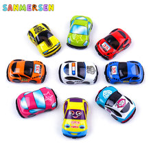 Mini Hot Wheels Pull Back Car Toys Vehicle Children Racing Car Baby Cars Cartoon Pull Back Aircraft Truck Kids Toys For Boy Gift kids collectible cute animal model dinosaur panda vehicle mini elephant bear toy truck tiger pull back car boy toys for children