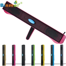 Binmer  USB Mini Speaker Music Player for Computer Desktop PC Laptop Notebook Oct 10