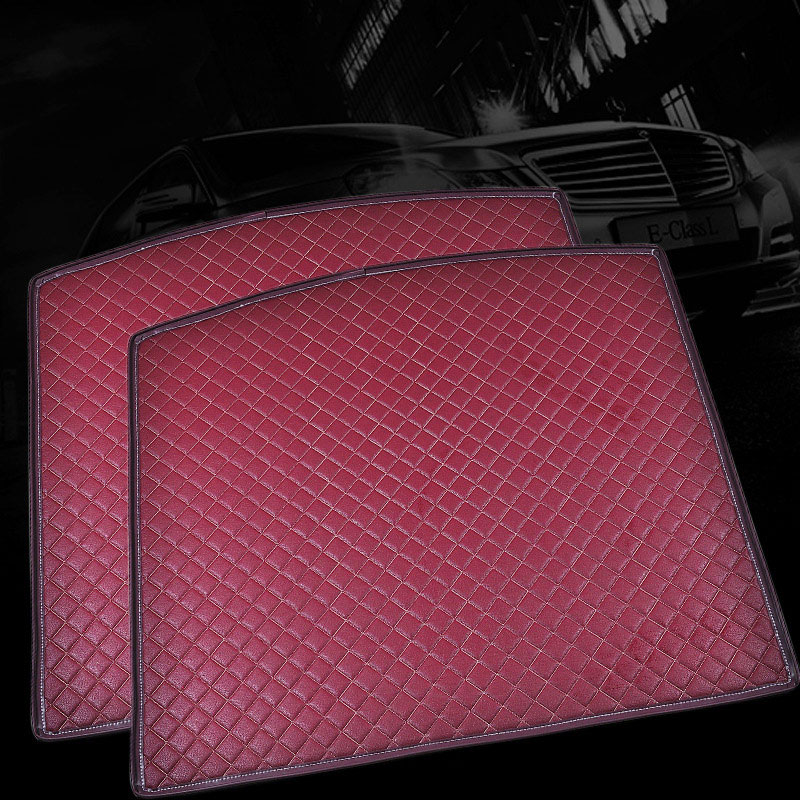 Custom fit car trunk mat for Hyundai ix25 ix35 Elantra Sonata Solaris Tucson verna Veloster 3D car styling carpet cargo liner