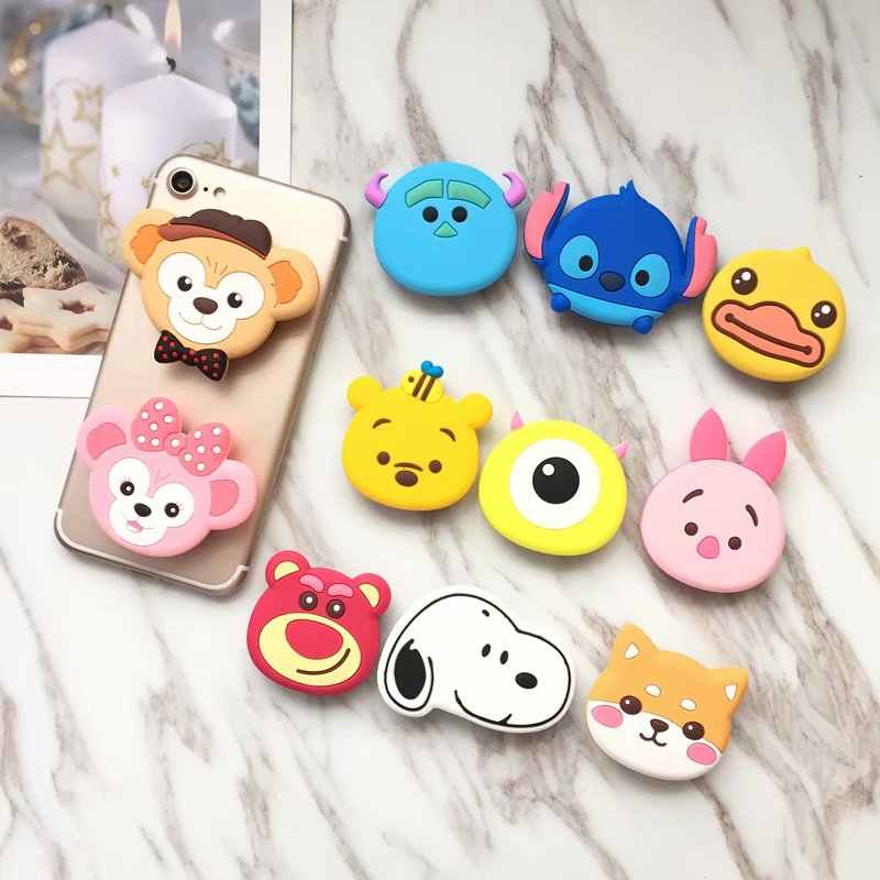OPP Cute kitty bear cony Phone Holder Expanding Stand Finger Holder For  iPhone Samsung Xiaomi Mobile e8527baaf372