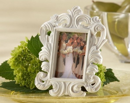 Fine-300pcs-lot-White-Baroque-photo-frame-wedding-place-card-holder-picture-frames