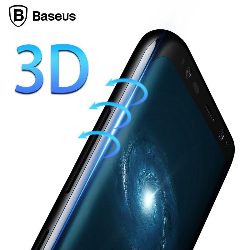Baseus Էկրանի պաշտպանիչ Samsung Galaxy S8 3D Arc - Բջջային հեռախոսի պարագաներ և պահեստամասեր - Լուսանկար 2