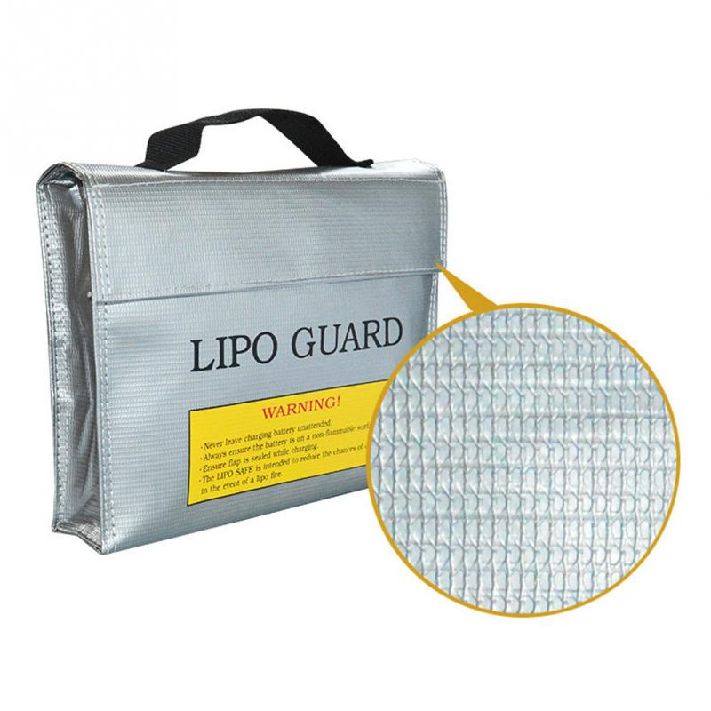 New Hot Fireproof RC LiPo Battery Safety Bag Charging Protection Explosion-proof Safe Guard Bag Sack 180 X 230MM / 230X300MM