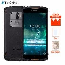 DOOGEE S55 Impermeabile Smartphone 4 GB di RAM 64 GB ROM 5500 mAh MTK6750T Octa Core da 5.5 pollici Android 8.0 Dual SIM 13.0MP OTA 4G FDD LTE