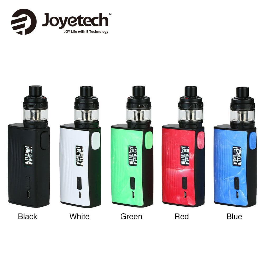 100% Original Joyetech ESPION Tour 220 W TC Kit avec 5 ml capacité Cubis Max réservoir et 0.96 pouces OLED affichage pas de batterie e-cigs Vape