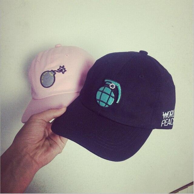 New 59 grenade bomb baseball cap bone masculino fifty world peace snapback  summer outdoor sun hat casquette gorras for women men ab313fa0fd6