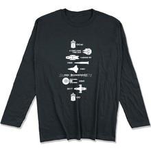 78f670772 Spring autumn long sleeve Cotton Shirt Spaceship Timeline Men T-Shirt  Firefly Star Trek Star Wars Gift TShirt Top Tee Streetwear