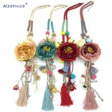 Новое ожерелье с подвеской в виде большого цветка розы цепочка