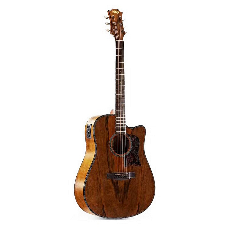 все цены на 2018 factory new arrival 41inch dao wood acoustic electric guitar free bag free shipping