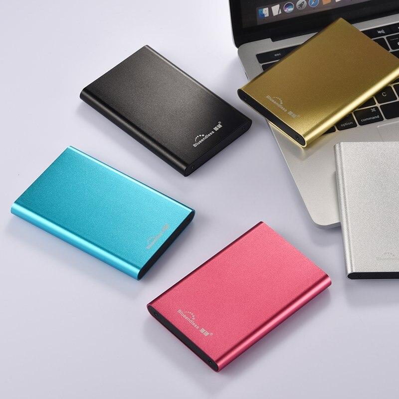 """HDD 2.5 """"250 ГБ Портативный внешний жесткий диск USB3.0 80 ГБ жесткий диск 120 ГБ HD экстерно для ноутбука настольный 1 ТБ"""