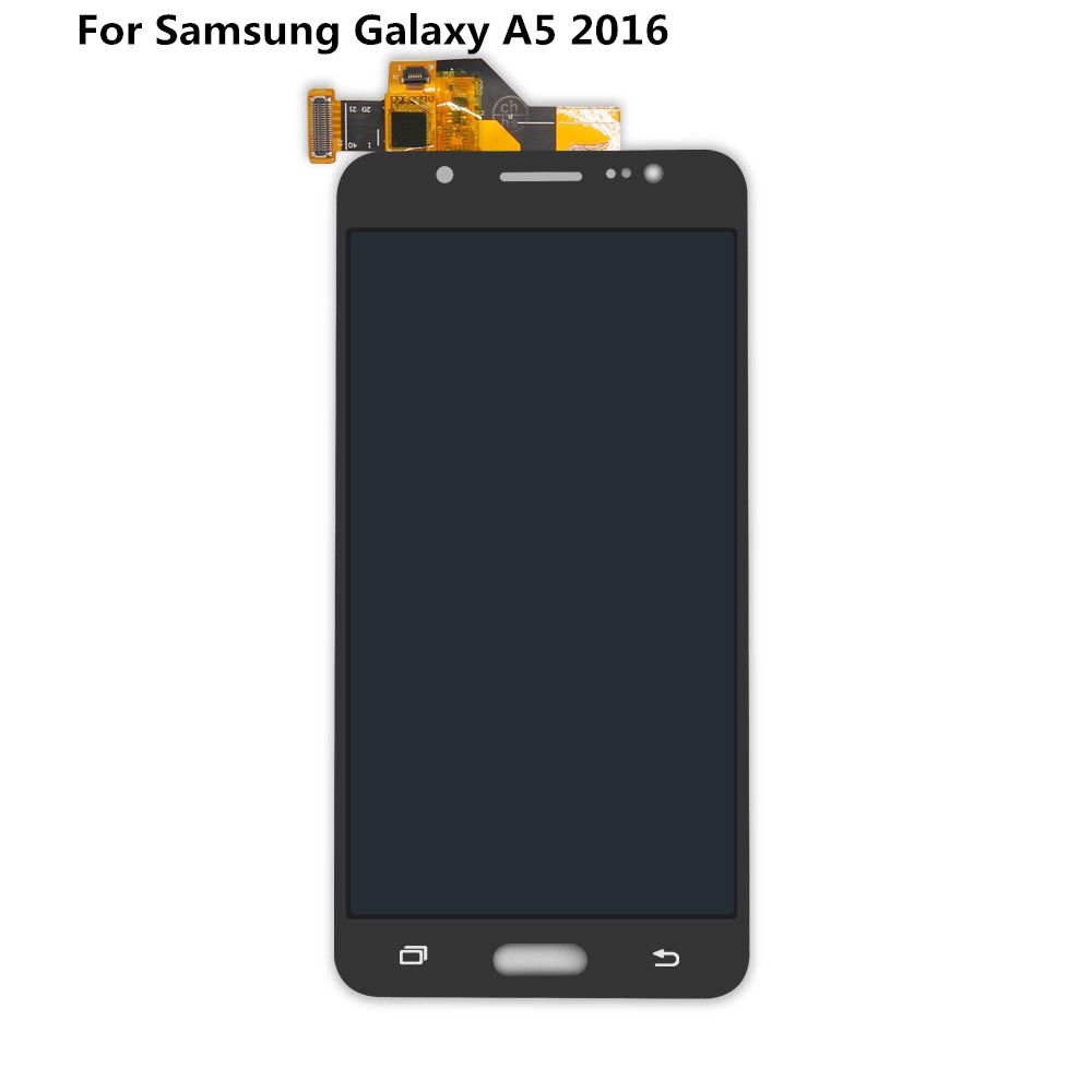 For Samsung Galaxy A5 2016 A510 A510F/DS A510M/DS A510Y/DS A5100 LCD Display Touch Screen Digitizer Assembly TFT LCD DisplayFor Samsung Galaxy A5 2016 A510 A510F/DS A510M/DS A510Y/DS A5100 LCD Display Touch Screen Digitizer Assembly TFT LCD Display
