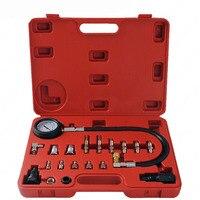 TU 15A Car Diesel Engine Compression Tester Tool Kit Cylinder Pressure Gauge repair tools set