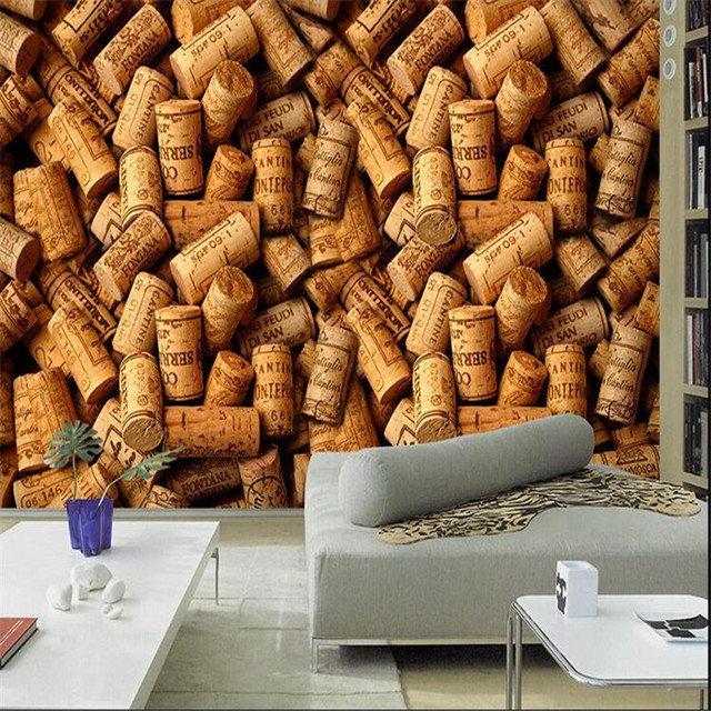 3d large wall wallpaper mural hd coffee yellow box the whole space feel cafe art deco