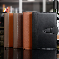 High quality PU leather notebook office business travel journal planner daily planner organizer office school supply 1287