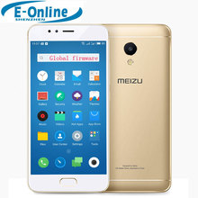 Original MEIZU M5S Global Firmware Cell Phone MTK6753 Octa Core 4G LTE 3GB RAM 16GB ROM Fingerprint Fast Charging(China)