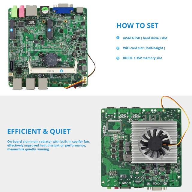 Windows 10 Мини ПК компьютер Intel Core i7 7500U i5 7200U i3 7100U 4 K Поддержка HDMI VGA 300 M WiFi Gigabit Ethernet Minipc NUC 5