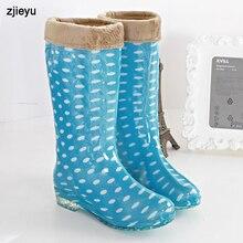 2016 желе дождь сапоги женские галоши Низком Каблуке Сапоги Дождь, дамская bot сад обувь Резиновая обувь Ботт Femme