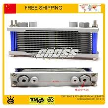 Высокая производительность Радиатора масляный радиатор алюминиевый система охлаждения 125cc 155cc 160cc грязи яму обезьяны велосипед аксессуары бесплатная доставка