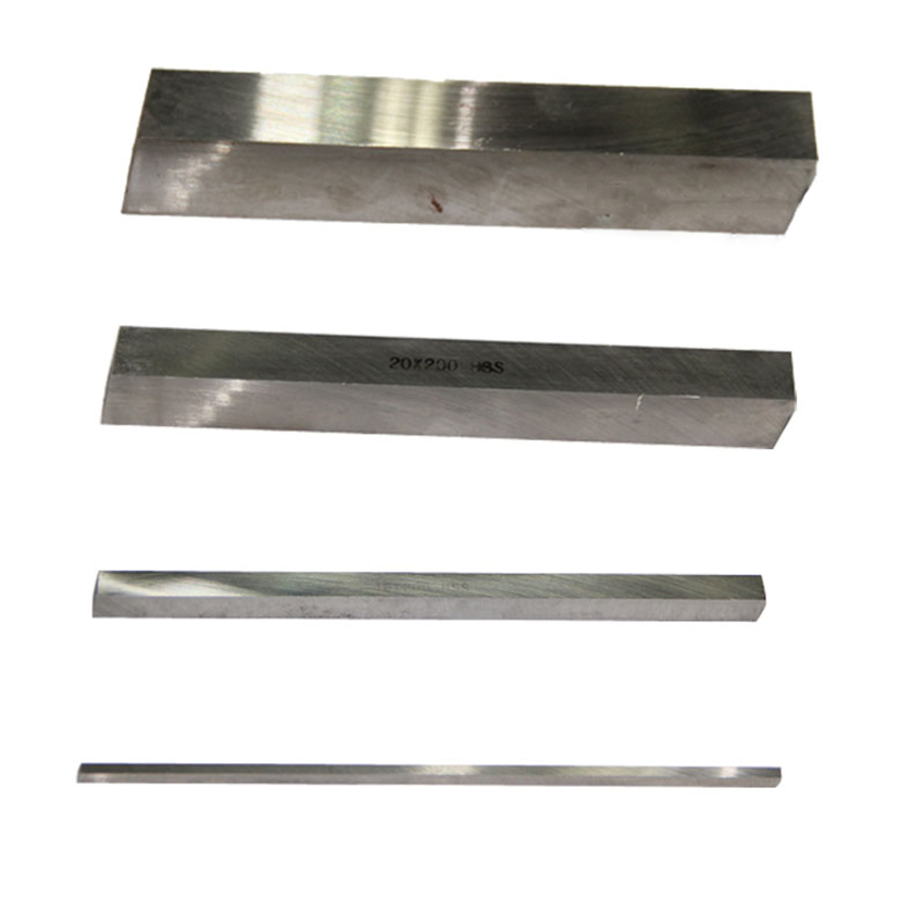 Square High Speed Steel Turning Tool HSS White Steel Strip DIY Knives, Engraving Knives 4/5/6/8/10/12/14/16/18/20mm X (l)200mm