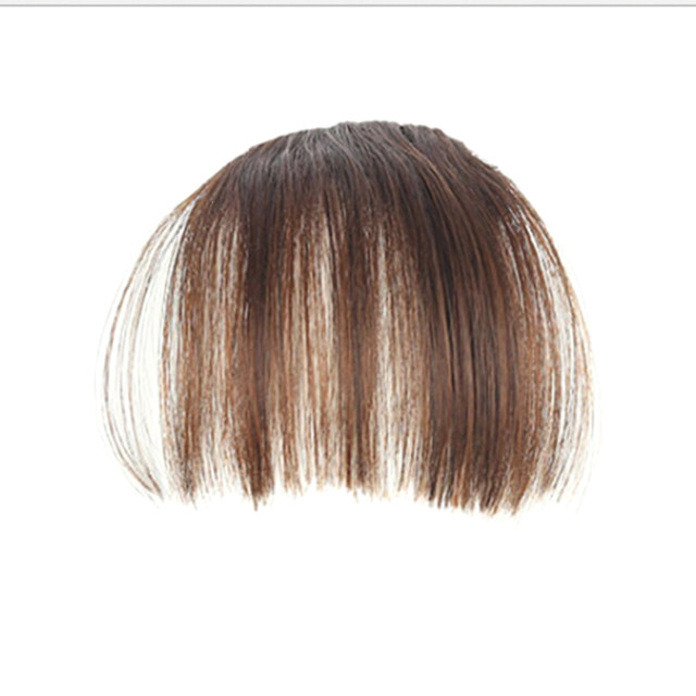 Online Shop 1pc Cosplay Wig Thick Neat Front False Bangs Natural