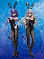 Anime Sexy Figures Hyperdimension Neptunia FREEing Purple Heart Bunny girl PVC Action Figure Collectible Model Toys