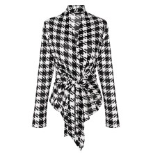 HOT SALE 2017 Spring Fall Stylish Ladies Women High Quality Casual Plaid Long Sleeve Coat Open Stitch Fashion Jacket For Lady