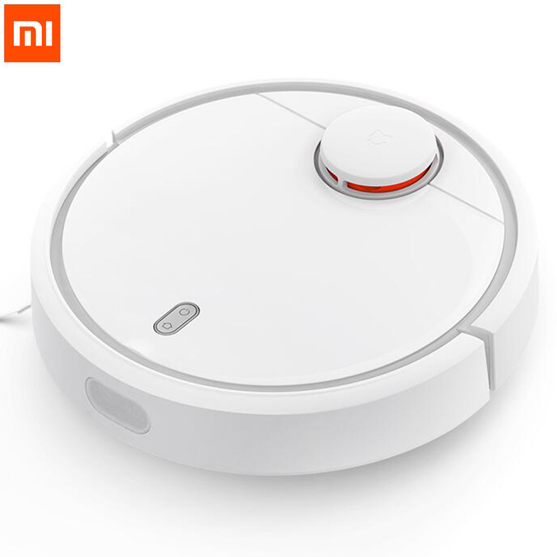 Original Xiaomi Mi Robotic Vacuum Cleaner Room for home Mini Robot 5200mAh NIDEC Motor household vacuum cleaning machine Smart original xiaomi mi robot vacuum