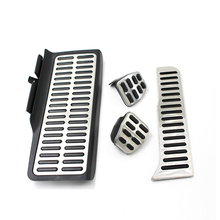 цена на Stainless Steel Car Pedals AT/MT for VW Volkswagen New Sagitar  Jetta MK6 2011-2017