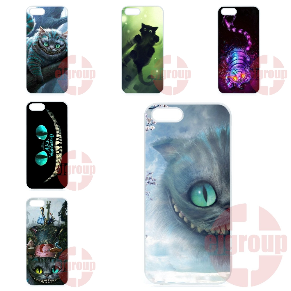 Phone Covers Case For Motorola Moto X Play X2 G G2 G3 G4 Plus E 2nd 3rd gen Razr D1 D3 Z Force Lovely Cat Alice In Wonderland