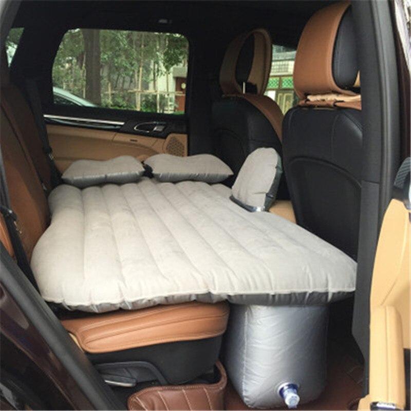 Matelas gonflable de lit de voyage de voiture Camping Auto matelas universel d'amortisseur de voiture lit gonflable Colchon gonflable Para Auto