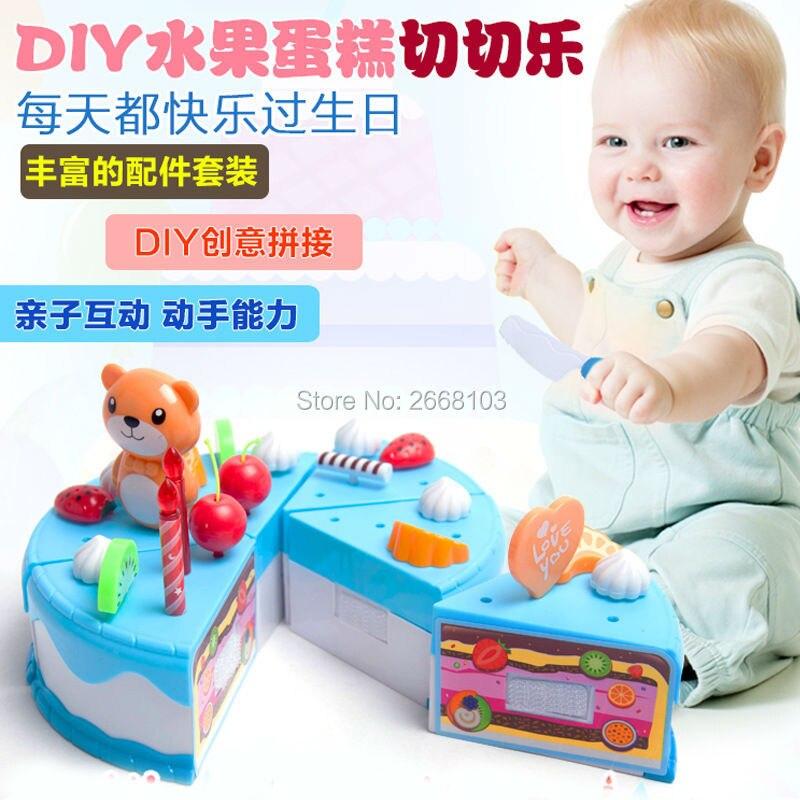 Cake Toy 55PCS / Set Fruit Girl Балалар үйі - Ойындар мен басқатырғыштар - фото 5