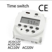 CN101A AC/DC12V 24V 110V 220V 16A Digital LCD Power Programmable Timer Time Rela