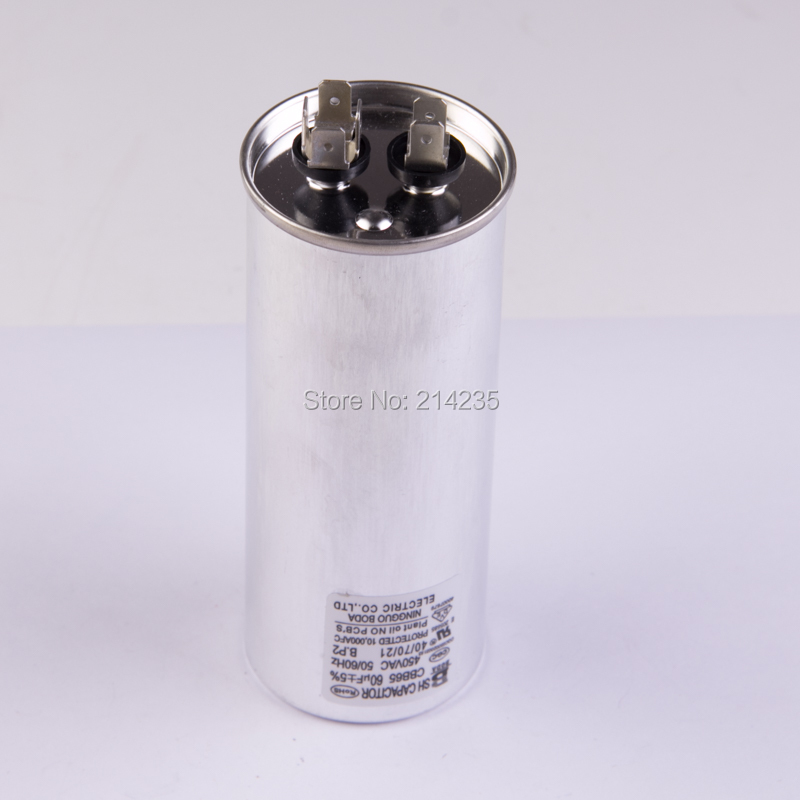 CBB65 Air conditioning capacitor 60UF KTDR5 800vdc 5uf 10uf 15uf 20uf 25uf 30uf 50uf 60uf 80uf 100uf 60a 65a 80a 5% high frequency resonant capacitor