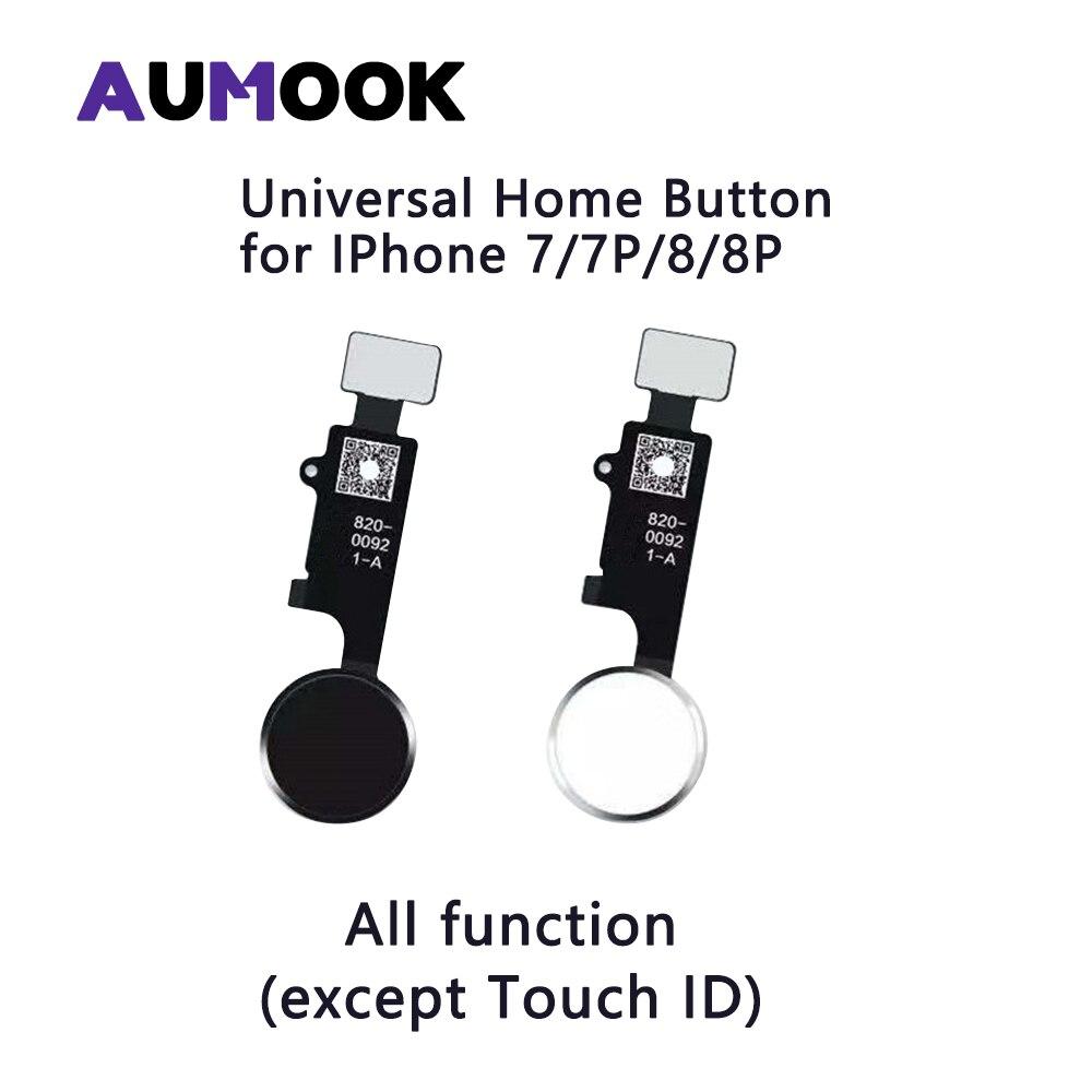 Universal Home-taste für IPhone 7 7 Plus 8 8 Plus mit Touch Rückkehr Screen Capture Funktion Alle arbeiten Ohne touch ID Funktion