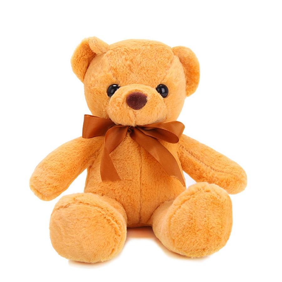 Stuffed Plush Animals Cute Soft Toys Teddy Bears Kids Room Decoration Jouet Enfant Birthday Gift Knuffels Baby Doll Toy 60G0653
