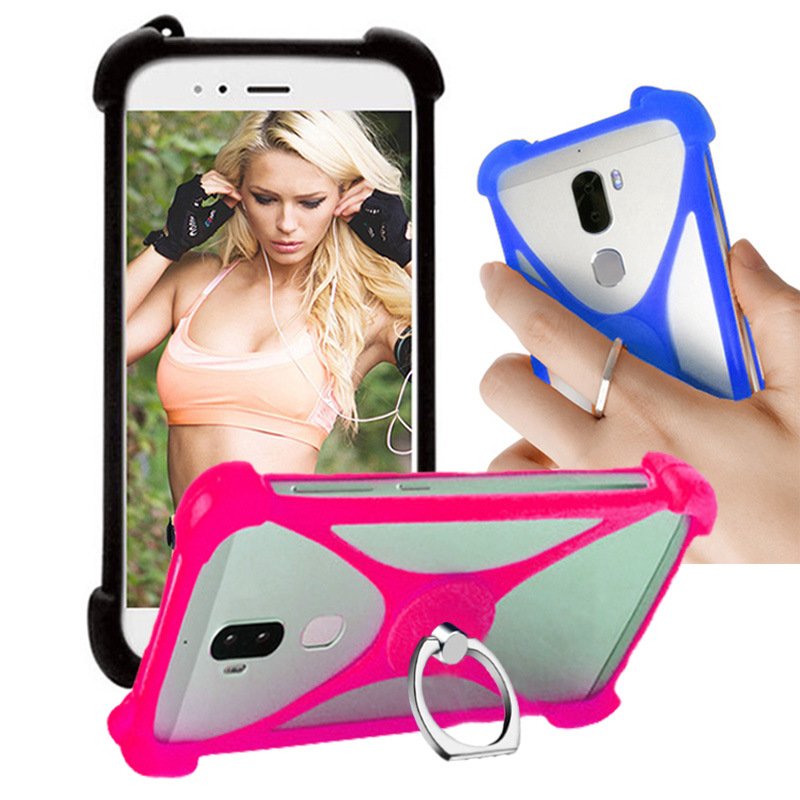 For Google Pixel XL Case Cover Soft Silicon Finger Ring Holder Case For Google Pixel XL Phone Cases