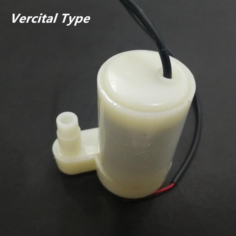 Микро погружной насос амфибия Vercital горизонтальный DC мотор насос водяной насос с USB 3/4. 5/5 в 80-100л/ч Европа Прямая поставка
