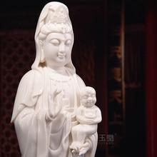 Dai Yutang Dehua ceramic Buddha statues, wedding gifts gift bag-mail/12-inch Guanyin D01-269
