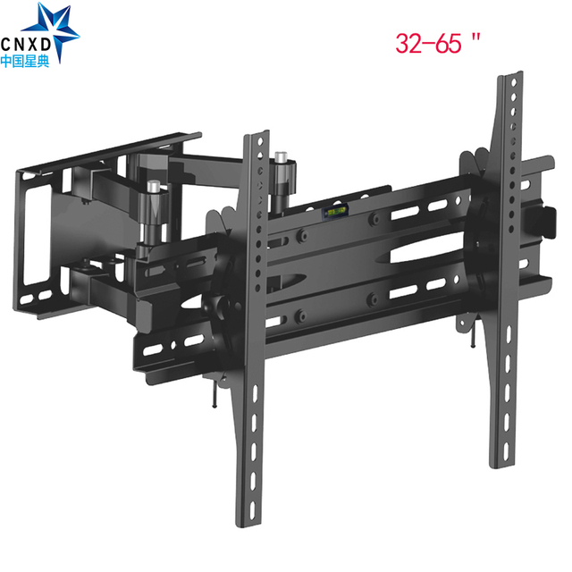 Articulating Full Motion Tv Wall Mount Bracket Tilt Swivel Stand Suitable Size 32 65 Max Vesa 600 400mm