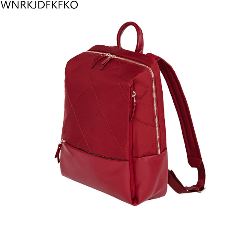 Ms. backpack 14 Inch Notebook Computer Backpack Diamond Trellis Fashion School Backpack Backpack цена