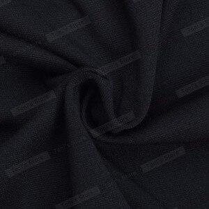 Image 5 - 素敵な永遠のちょう結び女性のワークヴィンテージドレス女性綿チュニック黒半袖フォーマルマーメイドボタンウィグルドレスb220